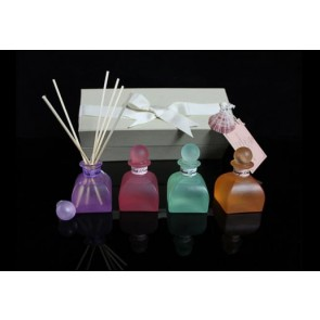 Marigold Houseware & Gifts D.L. & Co Linen Petite Gift Set Of 4 Assorted Diffusers