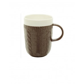 Marigold Houseware & Gifts Classic Coffee & Tea Brown Sweater Mug Oprah's Favorite Things