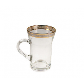 Gold and Silver Persian Tea Glass | Irish Coffee Mug | 10 oz tea glass | Near Los Angeles, CA