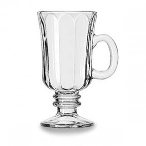 Libbey 8.25 oz Irish Coffee Mug, Optic Design (5294)