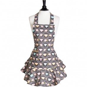 Jessie Steele Teacups Josephine Apron 111-JS-270| Mommy & Child Aprons| Cute Teacup Aprons| Los Angeles, CA