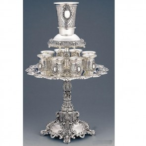Long Stem Kiddush Wine Fountain