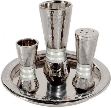 Emanuel Havdallah Set with Silver Rings