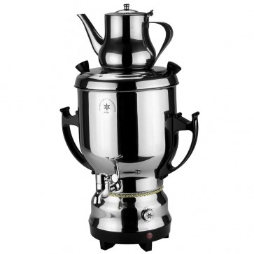 Traditional Persian Style Samovar, Black