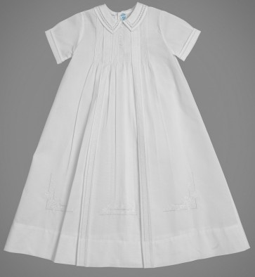 Pleated Brit Milah Occasion Gown Set