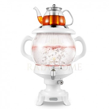 RAYA Glass Persian Samovar & Tea Maker