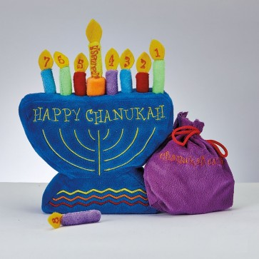 Soft Children's Menorah Set