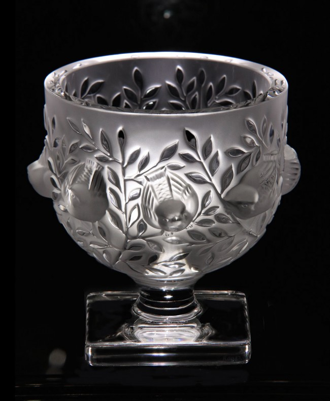 lalique elizabeth vase lalique crystal vase luxury gifts los angeles - Lalique Vase