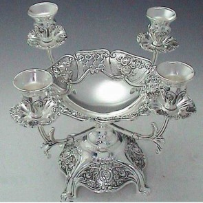 Antique Designed Center Piece Candle Holders