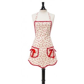 Retro Cherries Children's Ava Apron