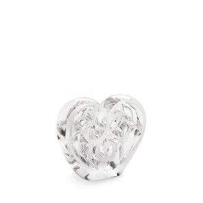 Lalique Elton John Music is Love Heart, Clear| Los Angeles
