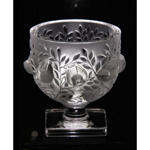 Lalique Elizabeth Vase | Lalique Crystal Vase | Luxury Gifts Los Angeles