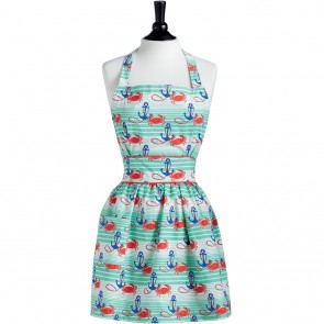 Nautical Waves Viola Aprons Hostess Apron