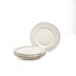Nicolette Collection Dessert Plate Set