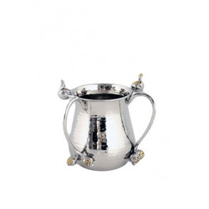 Pomegranate Silver/Gold Washing Cup