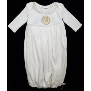 Baby Boy Newborn Brit Milah Gown Shema Heirloom Gown