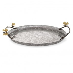 Shop Michael Aram Butterfly Ginkgo Oval Tray