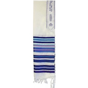 Tallit Bnei Ohr Blue, with Bag