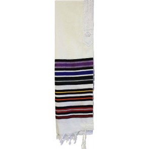 Tallit Bnei Ohr Red, with Bag