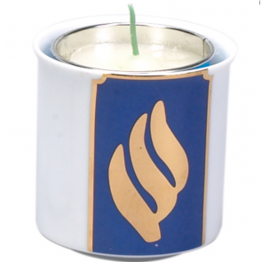 Yahrzeit Memorial Candle and Votive