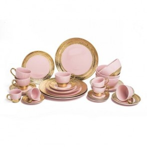 Embossed Gold Collection in Pink