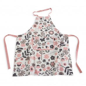 Floral Color Centre Kids Apron
