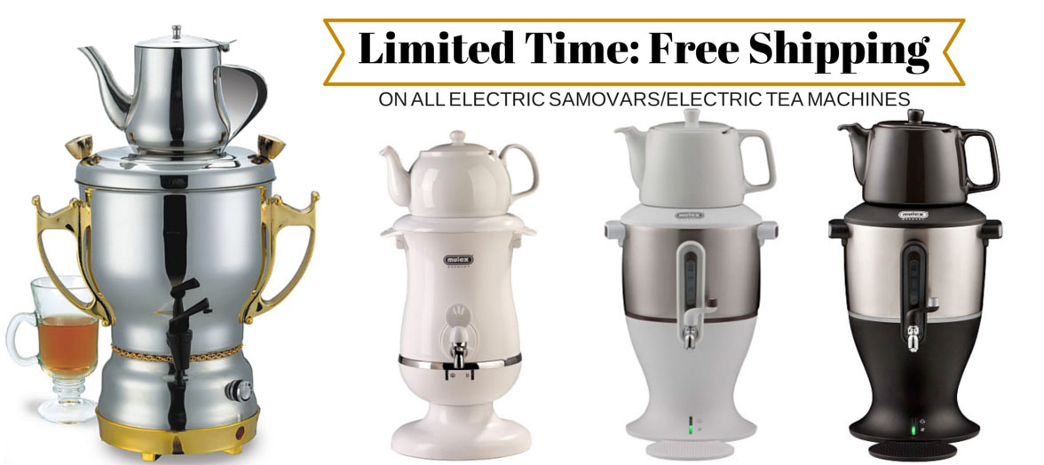 Shop for Electric Persian Tea Samovars | Free Shipping